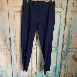 Calvin Klein wool mens slim fit dress pants 32x30